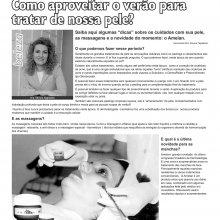 Dra. Silvana Tagliatella na edição 90 do Jornal Dicas